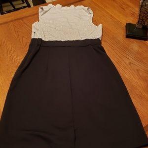New York & Company rockabilly pin up dress size M